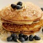 blueberry-almond-pancakes